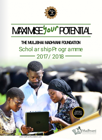 Application Form 2017 - 2018 Cover